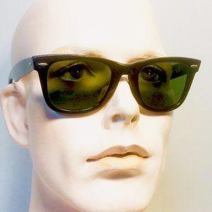 Vtg Ray -Ban Wayfarer Bausch & Lomb Sunglasses
